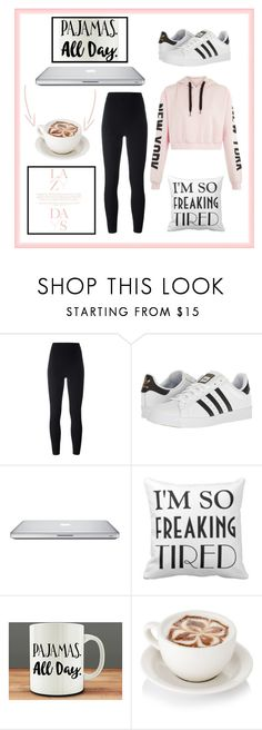 """That Lazy Day"" by qzfab174 ❤ liked on Polyvore featuring Lazy Days, Yeezy by Kanye West, adidas and Humör"