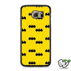 Batman Logo Pattern Samsung Galaxy S6 Case