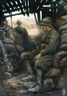 Luciano Ceglia Ww1 Pictures, Military Pictures, Military Art, Military History, World War One, First World, Ww1 Battles, Ww1 Art, War Novels