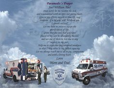 PARAMEDICS EMS     Personalized gift by CreationsByFrannie on Etsy