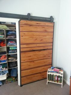 Modern Sliding Barn Door on Etsy, $1,325.00 by Dancing Grains