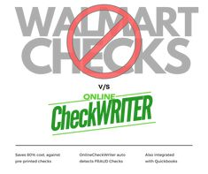 Do you know, you can print your own checks at home or office on blank check paper? Why do you have to order Walmart checks or pre-printed checks when you can save up to by switching to a blank check printing software? Walmart Checks, Blank Check, Writing Software, Write Online, Online Checks, Business Checks, Education Logo, App Development Companies, Letter Size Paper
