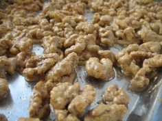 Maple Sugar Candied Nuts
