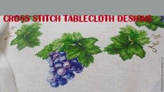 cross stitch tablecloth designs