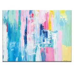 Summer Colors by Kirsten Jackson Painting Print on Canvas