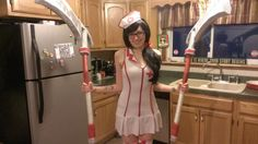 Panser as Nurse Akali!
