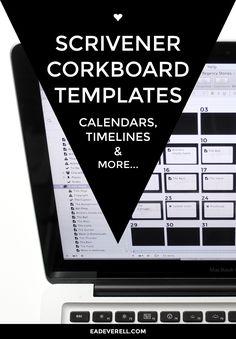 Scrivener Corkboard Templates