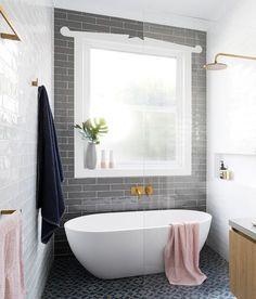 New Ideas Bathroom Tub Shower Combo Glass Walls Bathroom Tub Shower, Bathroom Windows, Small Bathroom Remodel, Tub Shower Combo, Bathrooms Remodel, Stand Alone Tub, Small Remodel, Bathroom Shower, Free Standing Tub