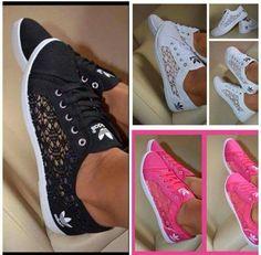 chaussure adidas dentelle blanche