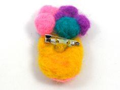 Clown Brooch by Golden Heart Crafts Golden Heart, Heart Crafts, Brooches, Stud Earrings, Jewelry, Jewlery, Brooch, Jewerly, Stud Earring