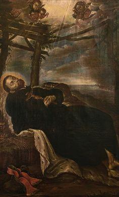 Tránsito de San Francisco Javier por Diego de Borgraf (Flamenco, 1618-1686)