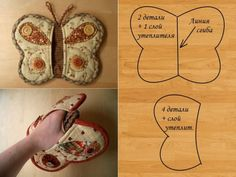 Eu Amo Artesanato: Luvas com molde, Diy Abschnitt, Small Sewing Projects, Sewing Projects For Beginners, Sewing Hacks, Sewing Crafts, Sewing Patterns Free, Free Sewing, Knitting Patterns, Crochet Patterns, Free Pattern
