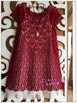 Мобильный LiveInternet  Ананасовое бордовое платье  | Домовушка_Луша - Дневник домоправительницы |