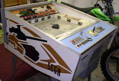 Sega Attack and Attack II 1973 coin operated tank driving arcade game Arcade Game Machines, Arcade Machine, Arcade Games, Vending Machines, Pinball, Penny Arcade, Retro Arcade, Consoles, Fun Fair
