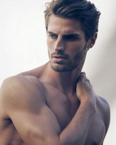 Dean Stetz, Male Model, Good Looking, Beautiful Man, Guy, Handsome, Hot, Sexy, Eye Candy, Beard, Muscle, Shirtless 男性モデル