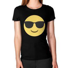 Sunglasses Emoji Women's T-Shirt