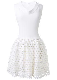 Alaia white dress