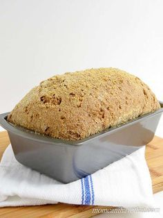 This is the best psyllium-flax bread I have had. But even better, it's low in carbs, gluten-free, dairy-free, Paleo and Keto. At 3 net carbs per slice, enjoy that sandwich!