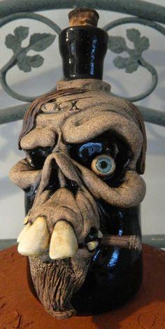 Hairy Skull Poison Bottle by thebigduluth on DeviantArt