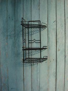 vintage bathroom shelf kitchen shelf / large от OldMoscowGallery