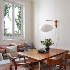 Apartment Interior, Home Interior, Interior Design, Dining Nook, Dining Room Design, Living Room Inspiration, Interior Inspiration, Unique Home Decor, House Rooms