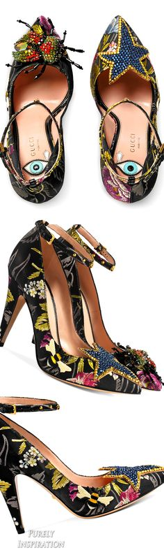 Gucci Floral jacquard pump | Purely Inspiration
