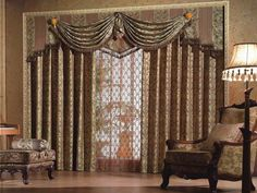 Classic Curtain Designs For Living Room Window Interior    Http://kaamz.