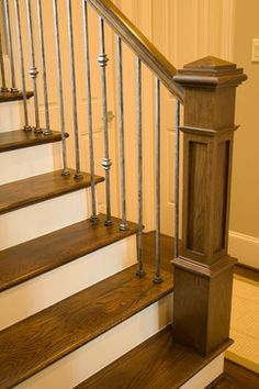 The new Craftsman style staircase | House of Forgings | Stair and Railing…
