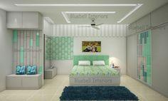 Loft Storage, Bedroom Interiors, Sliding Wardrobe, Settee, Bed Design, Bed Room, King Size, Pop, Furniture