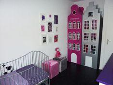 wat genieten we dit keer zelf van onze zelfgemaakte Amsterdamse kledinghuizen bij onze dochter op haar kamer. M Style, persoonlijk en op maat gemaakt interieuradvies