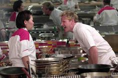 """The black jacket and upcoming finale make it more stressful for the six remaining chefs in the back-to-back episodes of """"Hell's Kitchen"""" Season 13 Episode 13 """"6 Chefs Compete"""" and Episode 14 """"5 Chefs Compete,"""" which aired last Dec. 10, 2014 at 8:00 p.m. on FOX. In this episode, Santos is lost in the kitchen, and Jennifer hates Roe more than ever."""