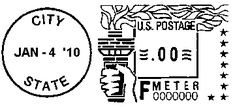 bulk mail postage machine