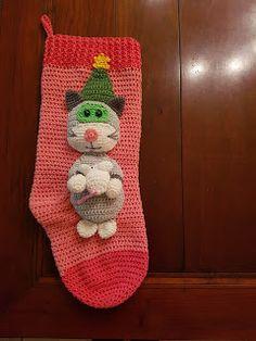 angel-eye's haakseltjes: Kerstsok nr. 4 de kat