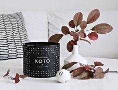 Our KOTO candle has arrived! (via Bloglovin.com )