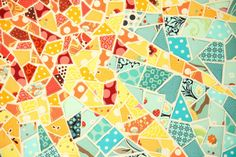 Sunburst Mosaic mini by Melissa LeRay