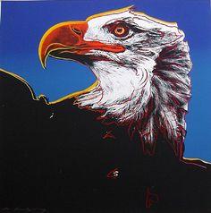 """""""Endangered Species: Bald Eagle"""", 1983 / Andy Warhol (1928-1987)"""