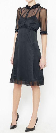 Marc Jacobs Black Dress