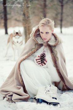 Winter wedding dress cape (3)
