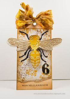 Cheiron Brandon: 12 tags - June 2014 Layered Bee