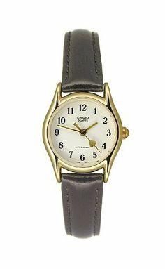 aba3c947f3b Casio Women s Leather watch  LTP1094Q7B5 Casio.  19.95. Precise Japan  Quartz Movement. Stainless