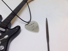 Sexy guitar pick-Silver guitar pick-Custom guitarist gift-Sex | Etsy Music Necklace, Greek History, Guitar Picks, Rock Music, Music Instruments, Unique Jewelry, Sexy, Handmade Gifts, Silver