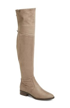 Ivanka+Trump+'Livi'+Faux+Suede+Over+the+Knee+Boot+(Women)+available+at+#Nordstrom