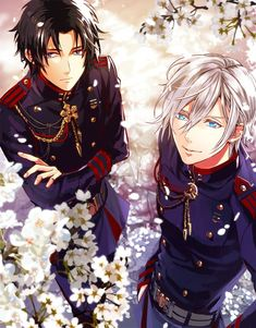 Owari no Seraph {Seraph of The End} - Guren Ichinose and Hiiragi Shinya