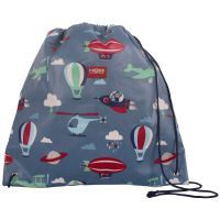 Penny Scallan Space Monkey Drawstring Bag www.mamadoo.com.au #mamadoo #bags #wallets