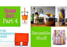 suggestions and products to reduce waste