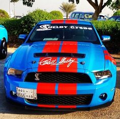 Shelby's last few he signed right on the front GT500