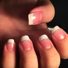 Looking for easy nail art ideas for short nails? Look no further here are are quick and easy nail art ideas for short nails. Toe Nails, Coffin Nails, Acrylic Nail Designs, Acrylic Nails, Glitter Manicure, Purple Glitter, Easy Nail Art, Simple Nails, Shellac