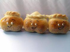 さるかに合戦 -  こなこな研究室 Bread Art, Pane, Kids Meals, Celebration, Muffin, Shapes, Baking, Recipes, Puff Pastries