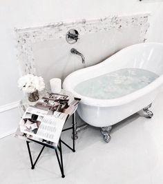 beautiful bathtub