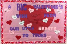 Toddler Valentine's Day Bulletin Board